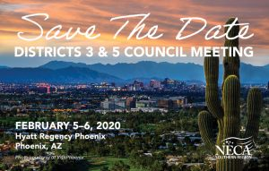 Districts 3 & 5 Council Meeting @ Hyatt Regency Phoenix